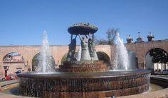 Fuente las Tarascas Morelia, Michoacan .mexico