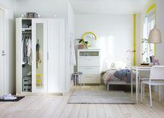 Portas que refletem estilo. #arrumação #decoração #IKEAPortugal