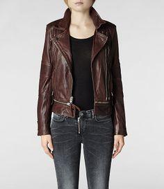 AllSaints Assembly Biker Jacket   Womens Biker Jackets  Want this!!