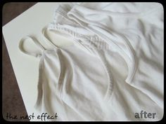 The Nest Effect: Cleaning Dingy White Shirts: The Results