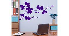 Sticker Fleurs d'asie