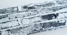 Majapuu   Digital Print - Bricks Grey   Euro Fabric  French Terry Sweat Jersey   Wattle Hill Fabrics