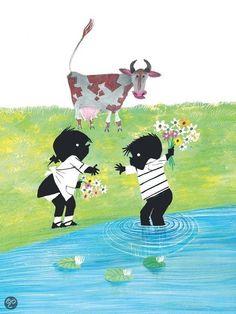 B৲( °৺° )৴K                                                           Jip en Janneke Comics Love, Sweet Pic, Schmidt, Renaissance Art, Stories For Kids, Children's Book Illustration, Fabric Art, Cute Kids, Childhood Memories