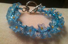 My Previous One Bracelet (design, Gail Lafler)