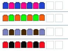 Pattern Cubes Math Game. $