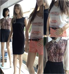Vitrine Closet Mulher! Saia, camisa, vestido, jeans, t-shirt e acessório. www.facebook/closetmulher
