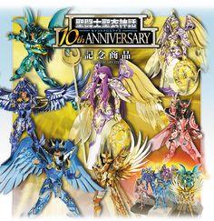 聖闘士聖衣神話 10th ANNIVERSARY プロジェクト発表会5/15 決定!