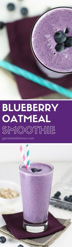 This Blueberry Oatme