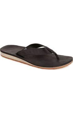 9ede7186b266ab Teva  Classic Flip  Leather Flip Flop (Men)