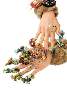 Weird but Cool Nail Art, Like and Share <3