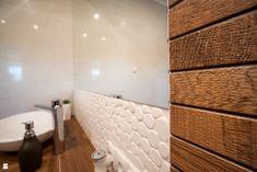 Łazienka w ciepłej stylizacji - zdjęcie od Pracownia Projektowania Wnętrz Małgorzata Czapla - Łazienka - Styl Skandynawski - Pracownia Projektowania Wnętrz Małgorzata Czapla