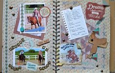 ScrappyHorses My Crush Book Wildwood.  Old West Cricut Cartridge.  Jackson paper collection.  CTMH available at ScrappyHorses.ctmh.com