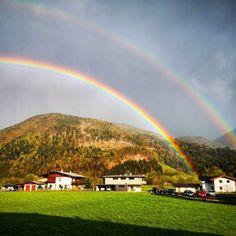 Doppelter Regenbogen – Bild des Monats im April 2020 Golf Courses, Dolores Park, Blog, Gadgets, Travel, Rain Bow, Creative, Pictures, Voyage
