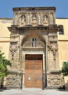 Fachada Iglesia Basilica Merced de Jerez.