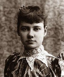 Born Elizabeth Jane Cochran in Pennsylvania in 1864, journalist Nellie Bly (she adopted the pen name because at the time, women reporters didn't use their real names) moved to New York in 1887.    Broke but brave, the 23-year-old convinced New York World editors to let her investigate conditions at the city lunatic asylum on Blackwell's Island
