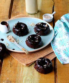 [Miam] Double chocolate donuts { au four } - épices et moi @EpicesMoi