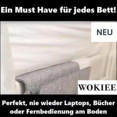 Store your laptop, remote control or books in the .- 🛏Bewahren Sie Ihren Laptop, Fernbedienung oder Bücher in dieser Filz Bett Organizer Tasche auf😍 💰💸🐷Save the night or side table and bring order and cosiness in your home 😍 - Interior Design Living Room, Living Room Decor, Bedroom Decor, Bed Organiser, Laptop Organizer, What Is Fashion Designing, Bag Organization, Bed Storage, My New Room