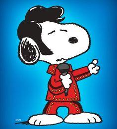 Snoopy Elvis