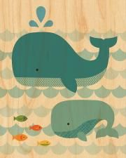 Whale Tale Wood Wall Art