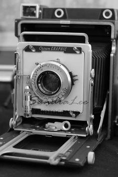 Antique camera print