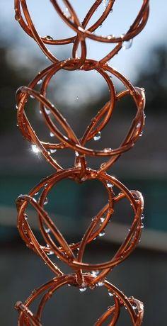 Love this rain chain.