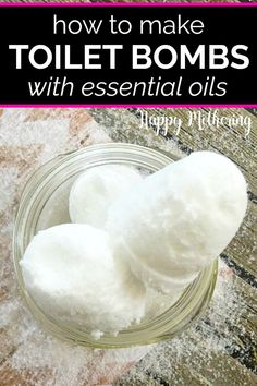 Learn how to make the best DIY toilet bombs to keep your toilet smelling fresh and clean. This homemade bathroom cleaning recipe is easy to make, uses natural ingredients like essential oils and cleans great! #diycleaner #homemadecleaner #cleaning #cleaner #clean #cleaningtips #cleaninghacks #diy #howto #homemaking #toilet #toiletcleaner #howtoclean #household Cleaning Recipes, House Cleaning Tips, Cleaning Hacks, Cleaning Solutions, Cleaning Crew, Cleaning Mold, Cleaning Agent, Cleaning Items, Cleaning Supplies