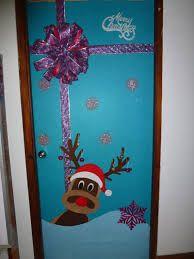 Resultado de imagen de decoracion de puertas navideñas