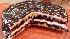 Czech Desserts, Sweet Desserts, Sweet Recipes, Czech Recipes, Ethnic Recipes, Torte Recepti, Pavlova, Cute Cakes, Baking Recipes