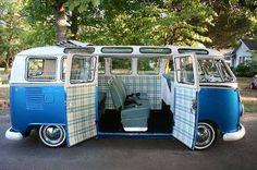 T1 VW Samba bus vintage