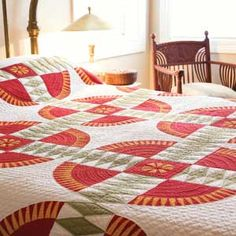 Vintage View: FREE An 1870 New York Beauty Bed Quilt Pattern