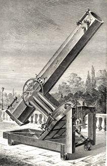Mirando por el Telescopio de León Foucault - Portal Fuenterrebollo