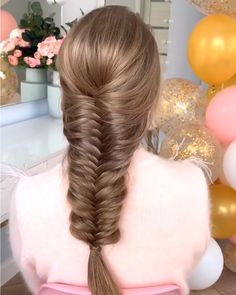 Amazing braid styles women for curly hair for round faces for school for thin hair male mens step by step Braided Ponytail, Ponytail Hairstyles, Summer Hairstyles, Wedding Hairstyles, Hairstyle Ideas, Bun Updo, Style Hairstyle, Braid Hair, Hairstyles 2018