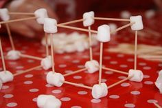 100th day of school---set a timer, give groups 100 toothpicks and 100 marshmallows and see who can build the tallest structure....Good idea, Micah!