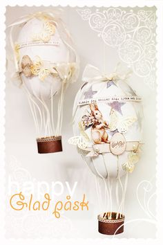 My oh my LOVESthis! Need to create some of my own too! :) #easter #airbaloon #egg