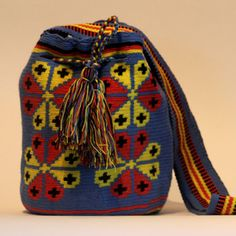 Hand Crocheted Bag Ardra, 73€, now featured on Fab.