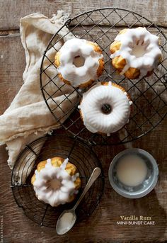 Vanilla Rum Bundt Cake via Bakers Royale