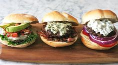 3 burger topping ideas
