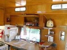 Inside Vintage Travel Trailers | ... , Restoration Vintage, Vintage Travel Trailers, Vintage Campers
