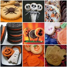 Sweet Tidings: Mosaic Monday: Halloween Cookies