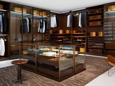 10 Luxury Walk-in Closet Design Ideas That Will Make Your Jaw Drop Walk In Wardrobe Design, Wardrobe Closet, Room Closet, Walking Closet, Dressing Room Design, Dressing Rooms, Inspiration Design, Design Ideas, Luxury Closet