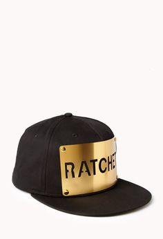 Cool Girl Ratchet Flat-Billed Cap  4a14ee3c0272