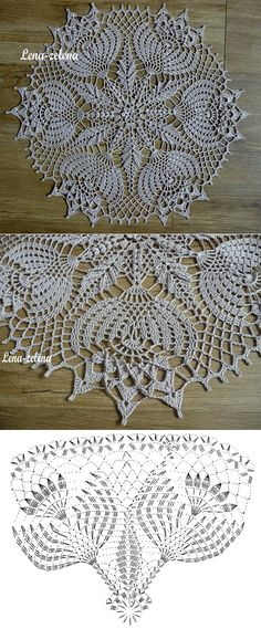 Ліст «Interested in Crochet doilies and Crochet motif? 14 ideas picked for you Crochet Doily Diagram, Crochet Doily Patterns, Crochet Art, Crochet Home, Thread Crochet, Filet Crochet, Love Crochet, Crochet Motif, Beautiful Crochet