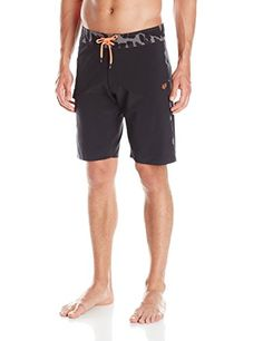 Surfing  Fox Men's Camino Boardshort, Black, 32 -- This is an Amazon Associate's Pin. Locate the item on the website simply by clicking the VISIT button