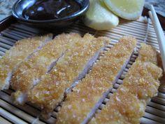 Gluten Free Chicken Tonkatsu