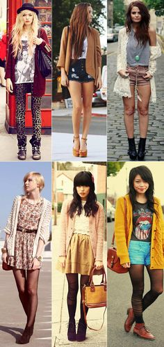 Would probs wear all of these, exept maybe top left.