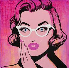 Marilyn pop art💕 uploaded by Jonnie on We Heart It Jasper Johns, Roy Lichtenstein, Art And Illustration, Art Illustrations, Andy Warhol, Dali, Richard Hamilton, Retro Kunst, Detroit Art