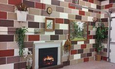 My fireplace...