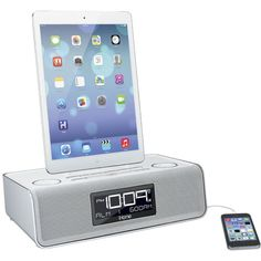 iHome Dual Charging Stereo FM Clock Radio with USB