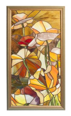 Stained glass panel by dzubaglass.ru