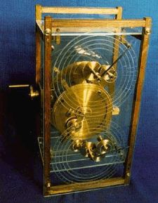 Orrery maker, John Gleave, constructed a working replica of the Antikythera Mechanism